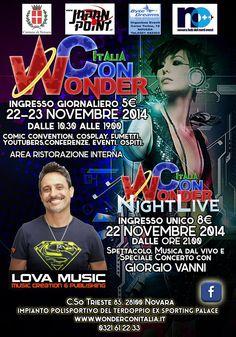WonderCon Italia 2014, Novara. Il nostro supporto: esposizione commerciale