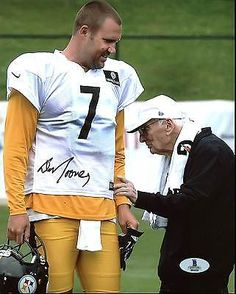 Steelers Dan rooney Authentic Signed 8X10 Photo Autographed BAS #B04526