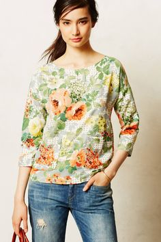 Bloomfield Tee - anthropologie.com. Love the pockets on the front of the T-shirt.