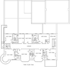 Floor Layouts For Hotels | Third Floor