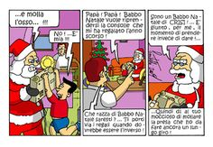 """La """"crisi"""" di Babbo Natale... #IoSeguoItalianComics #Satira #Politica"""
