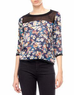 Stradivarius Philippines - Floral jacquard sweatshirt = LOVE THIS!!!!!!!