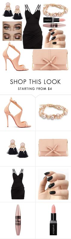 """🎀"" by jade-mcarthur24 ❤ liked on Polyvore featuring Christian Louboutin, Chan Luu, Neiman Marcus, Incoco, Maybelline and Smashbox"