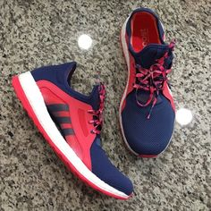 adidas women's pure boost x brand new, never worn adidas women's pure boost x in raw purple/shock red. mi compatible.  perfect running/training shoe sell for $120 currently. womens size 10. Adidas Shoes Athletic Shoes