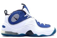"A subject of intense debate, the shoes that Anfernee ""Penny"" Hardaway wore during his 14 year career have been some of the most creative and visually risky shoes Nike has produced. Sometimes dubbed ""spaceman shoes"", Air Max Sneakers, Sneakers Mode, Classic Sneakers, Sneakers Fashion, Nike Sneakers, Nike Trainers, Nike Air Max, Baskets, Kicks Shoes"
