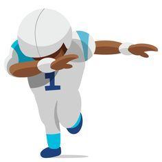 Cam Newton dabbing | Purrmoji | The unofficial fan-made Carolina Panther football emoji