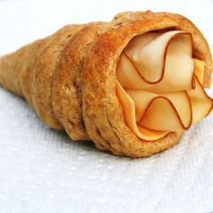 cornucopia rolls (did this with sugar cones last year. This would be great for W's lunch!