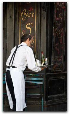 Café St. Regis ~ Paris
