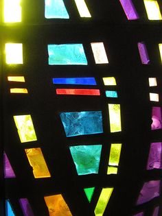 Coronado Hospital Chapel Stained Glass by Sharon French