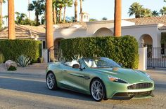 The new Aston Martin Vanquish Volante is the first Aston to have a body made completely of carbon fiber. Check out our first drive to learn more about this $300,820 convertible.