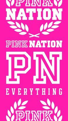 Pink nation everything Pink Nation Wallpaper, Pink Wallpaper Girly, Aztec Wallpaper, Words Wallpaper, Apple Wallpaper Iphone, Trendy Wallpaper, Iphone Wallpapers, Screen Wallpaper, Wallpaper Samsung