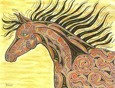 Running Wild Horse by Susie Weber #running #wild #horse