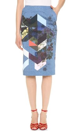 Preen By Thornton Bregazzi Magda Skirt, Red Shoes Textiles, Thornton Bregazzi, All About Fashion, Work Wear, Spring Fashion, Ideias Fashion, Casual Outfits, Style Inspiration, My Style