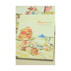 Quaderno illustrato - Hoya Story gattini a colazione