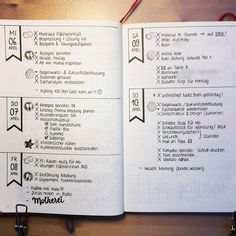 I tried out a rather minimal layout in my bulletjournal last week to find out…