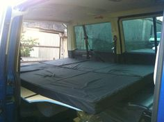 Curtains and Caravelle bed fitted - Page 5 - VW T4 Forum - VW T5 Forum