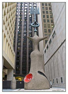Miro Sculpture - Washington Avenue