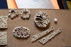Metal clay.  Beautiful designs. Molds anyone?