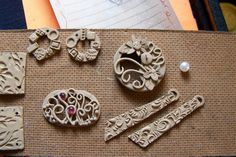 Metal clay. Beautiful designs. Molds anyone?