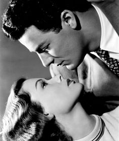 "Gene Tierney and Cornel Wilde in ""Leave Her to Heaven"""