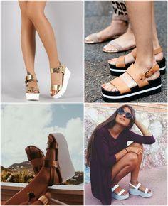 11 entre 10 mulheres estão usando essa sandália com plataforminha aqui na Europa. No Brasil já vi algumas, mas nunca na proporção que está por aqui! As que mais fazem sucesso são as metalizadas, preferencialmente as prateadas, mas até agora nãodescobri de onde é a mais top delas. Algo me diz que é da Zara, …