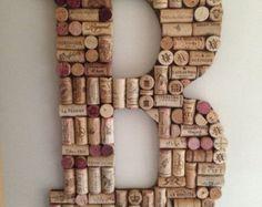Marco de corcho del vino por WineNotCork en Etsy