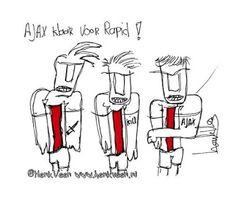 #Ajax klaar voor Rapid Wien! Door Henk Veen. #UCL #ajarap