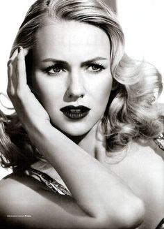 Naomi Watts    Like, repin and share.. and follow me! :)