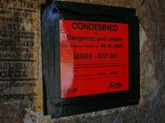 Condemnation is legalized confiscation.