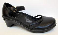Aravon 'Maya' Black Leather Mary Jane Size 8.5B #Aravon #MaryJanes