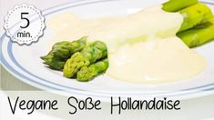 Vegane Sauce Hollandaise mit Spargel - Rezept von 5 Minute Recipes Smoothie Makers, Vitamins, Make It Yourself, Ethnic Recipes, Youtube, Food, Dips, Vegane Rezepte, Vegans