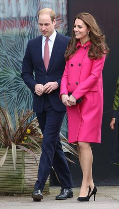 The Duchess of Cambridge made her final official appearance before disappearing from the public eye on Friday