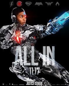 """31.6k Likes, 182 Comments - Justice League Movie (@justiceleague) on Instagram: """"#Cyborg is ALL IN. New #JusticeLeague trailer coming Sunday."""""""