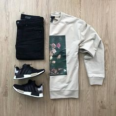 100 Best Smart Casual Outfit Ideas for Men This Year - The Hust Tomboy Fashion, Fashion Wear, Streetwear Fashion, Mens Fashion, Hype Clothing, Mens Clothing Styles, Best Smart Casual Outfits, Man Street Style, Outfit Grid