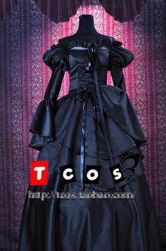 Code Geass C.C. Gothic Lolita Palacio Uniformes Cosplay Cosplay Del Partido Viste El Envío Libre