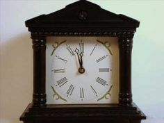 Jeeves & Wooster alarm clock