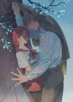Pin by adam jen on art i like in 2019 anime art, anime, anime love couple. Anime Couples Manga, Cute Anime Couples, Anime Guys, Romantic Anime Couples, Anime Couples Hugging, Sweet Couples, Anime Couples Drawings, Manga Couple, Anime Love Couple