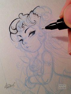 InkTober 2015 by Redisoj on Behance Drawing Sketches, Art Drawings, Sketching, Illustrations, Illustration Art, Drawn Art, Character Drawing, Copics, Ink Art