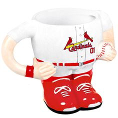 St. Louis Cardinals Uniform Sculpted Mug - MLB.com Shop