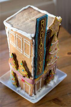 Radio City Gingerbread House