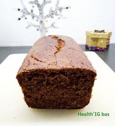 Pain d'épice à la farine de seigle - IG bas & sans lactose