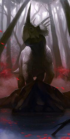 Styracosaurus_2 by SADistikKnight.deviantart.com