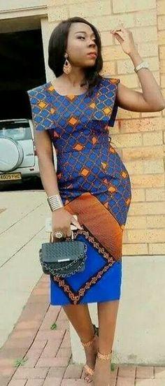 Modern And Trendy Ankara Styles African Dresses For Women, African Print Dresses, African Attire, African Wear, African Fashion Dresses, African Women, Ankara Styles For Women, Kente Styles, Ghanaian Fashion