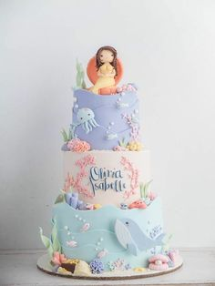 Cottontail's beautiful mermaids and ocean theme...