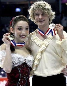Meryl & Charlie at the 2010 U.S. Figure Skating Championships