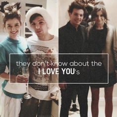 Lou and El are so cute and I have absolutely no doubts that their love is REAL. Love you guys <3 Best wishes to both of you
