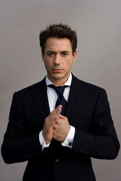 Robert Downey, Jr., I love you.