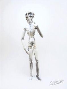 David Michelangelo Art Doll  OOAK  Sculpture  by ArtDuritos