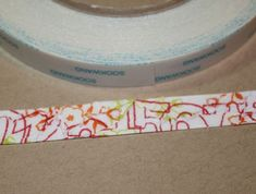 fun tutorial on making your own washi tape