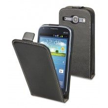 Capa Galaxy Core I8260 Muvit - Slim Preta  R$49,64